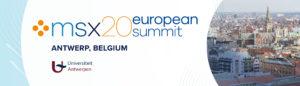 msx european summit banner